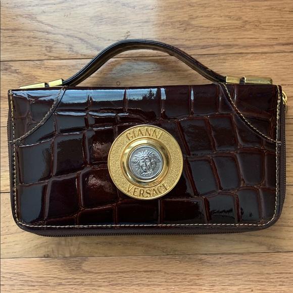 5b16a9a416 Versace Bags | Gianni Medusa Handbag | Poshmark
